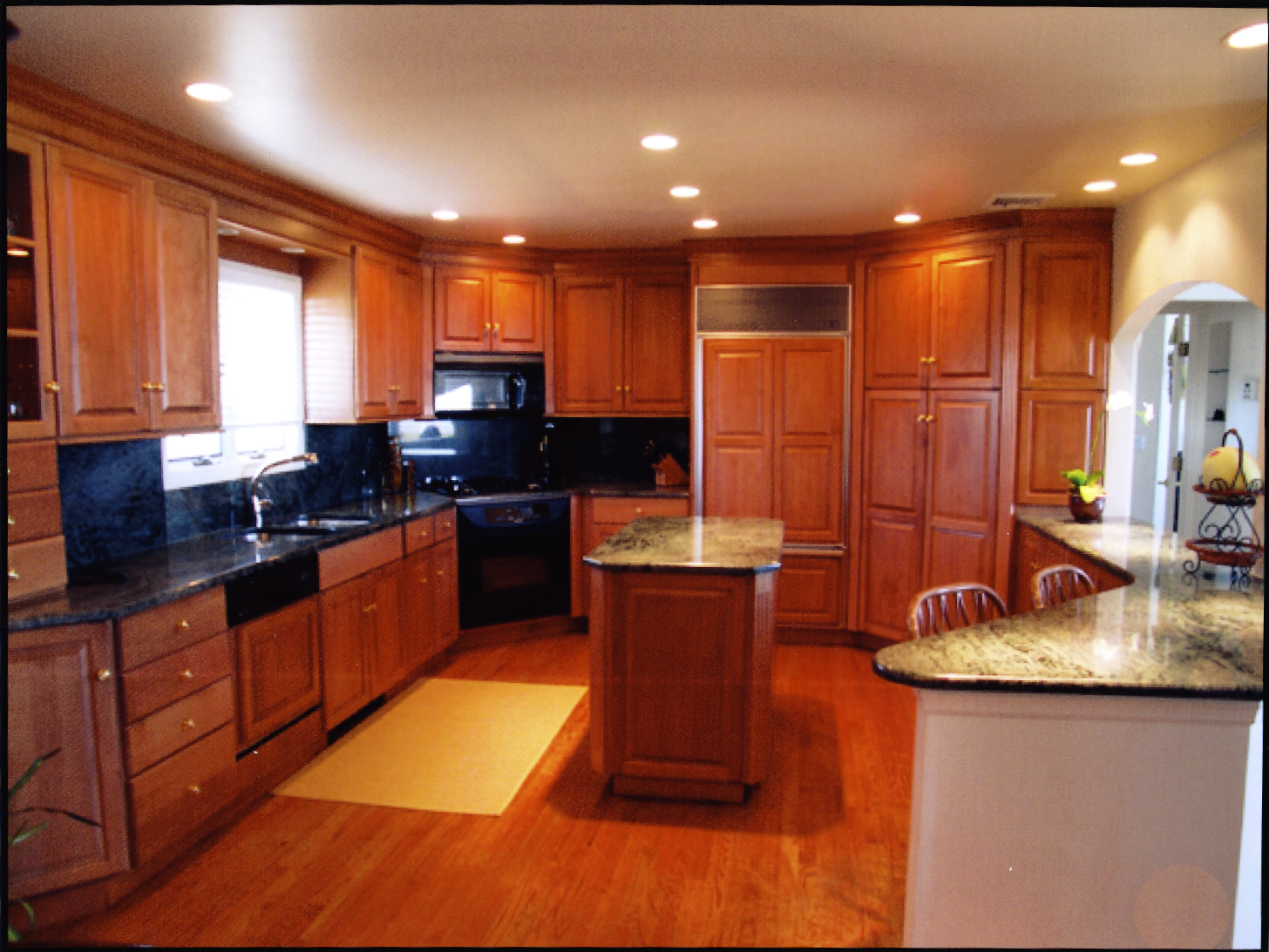Two-Granite-Countertops-In-Kitchen