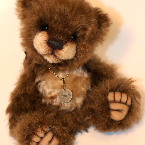 """Chestnut - 9.75"""" Mohair Teddybear"""