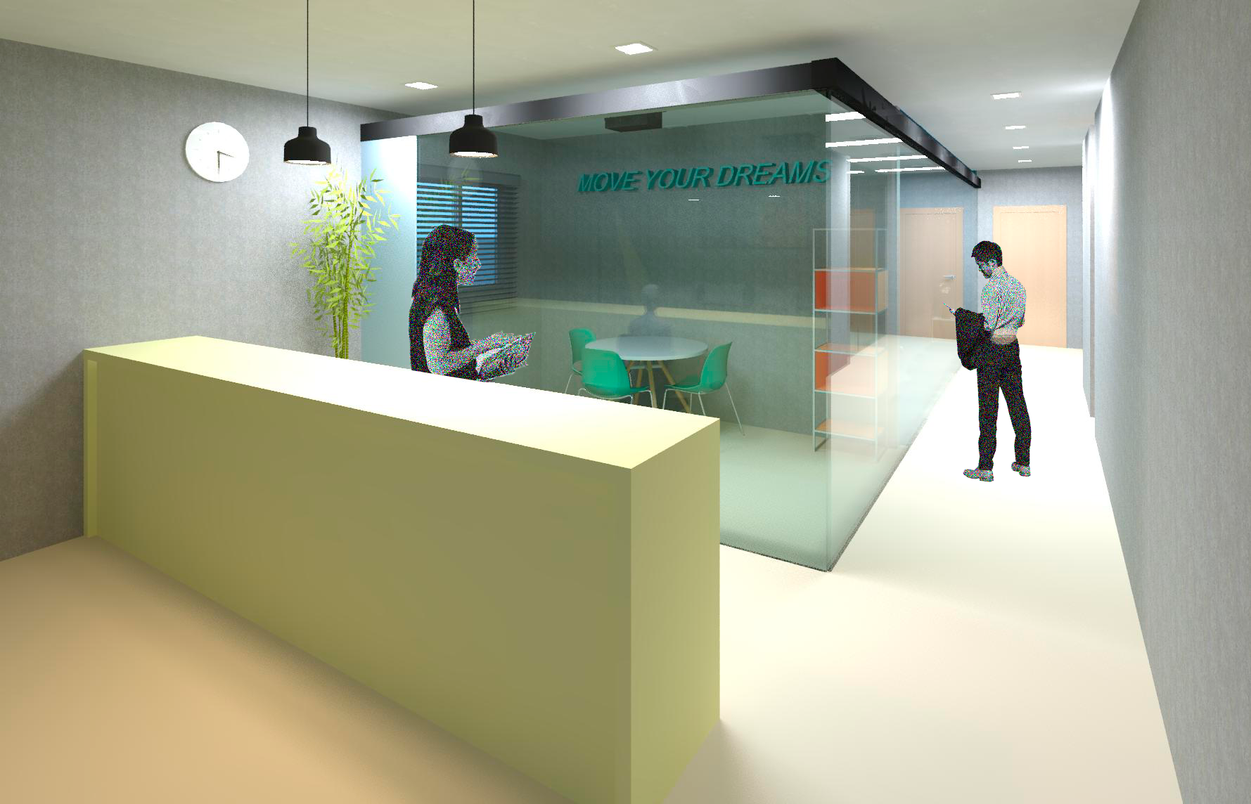 RECEPTION AND SMALL MEETING ROOM