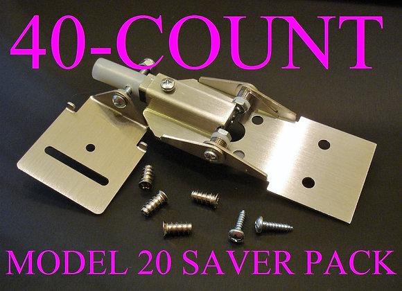 40-Pack, Flying Toekicks™ Model 20