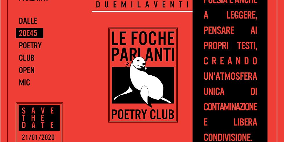 Le Foche parlanti poetry club 2020