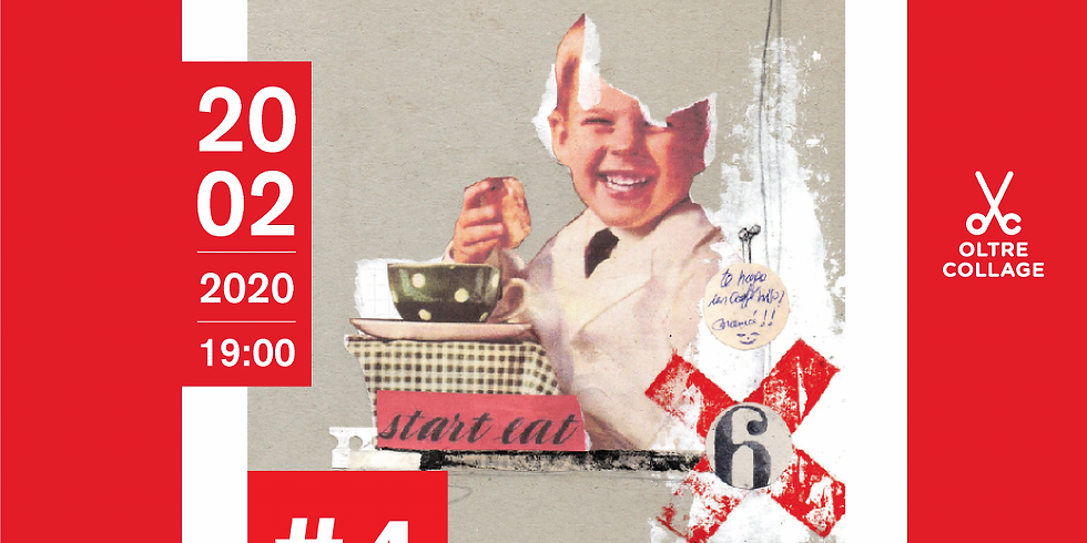 Oltre Collage in librosteria - #4 Happy meal issue
