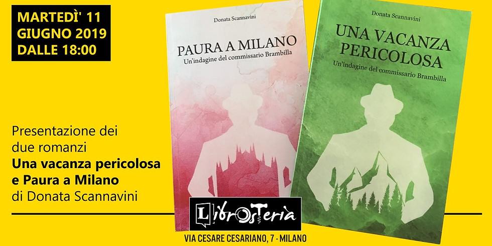Presentazione dei due romanzi di Donata Scannavini