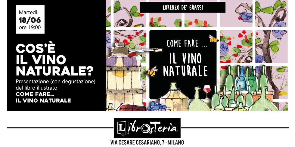 """Presentazione del libro """"Il vino naturale"""""""