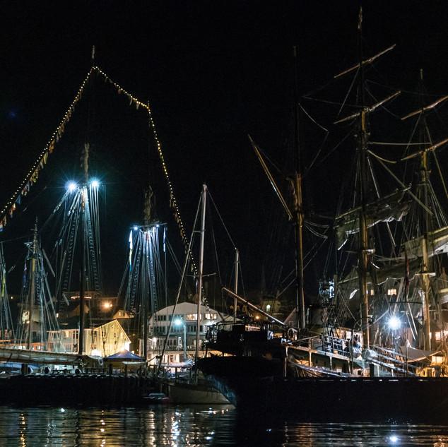 Tall Ships, Night