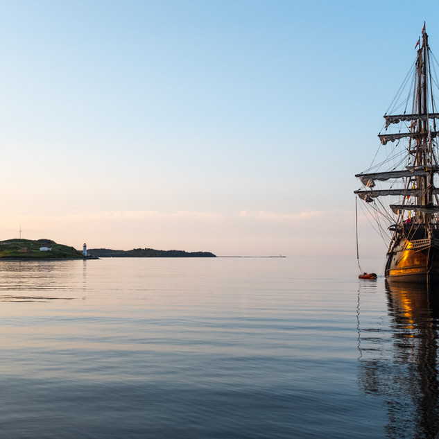 Tall Ship and St. Georges