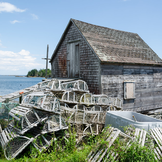 Lobster Pot Shed