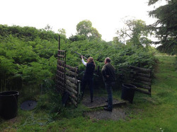 Clay shooting at House of Mulben