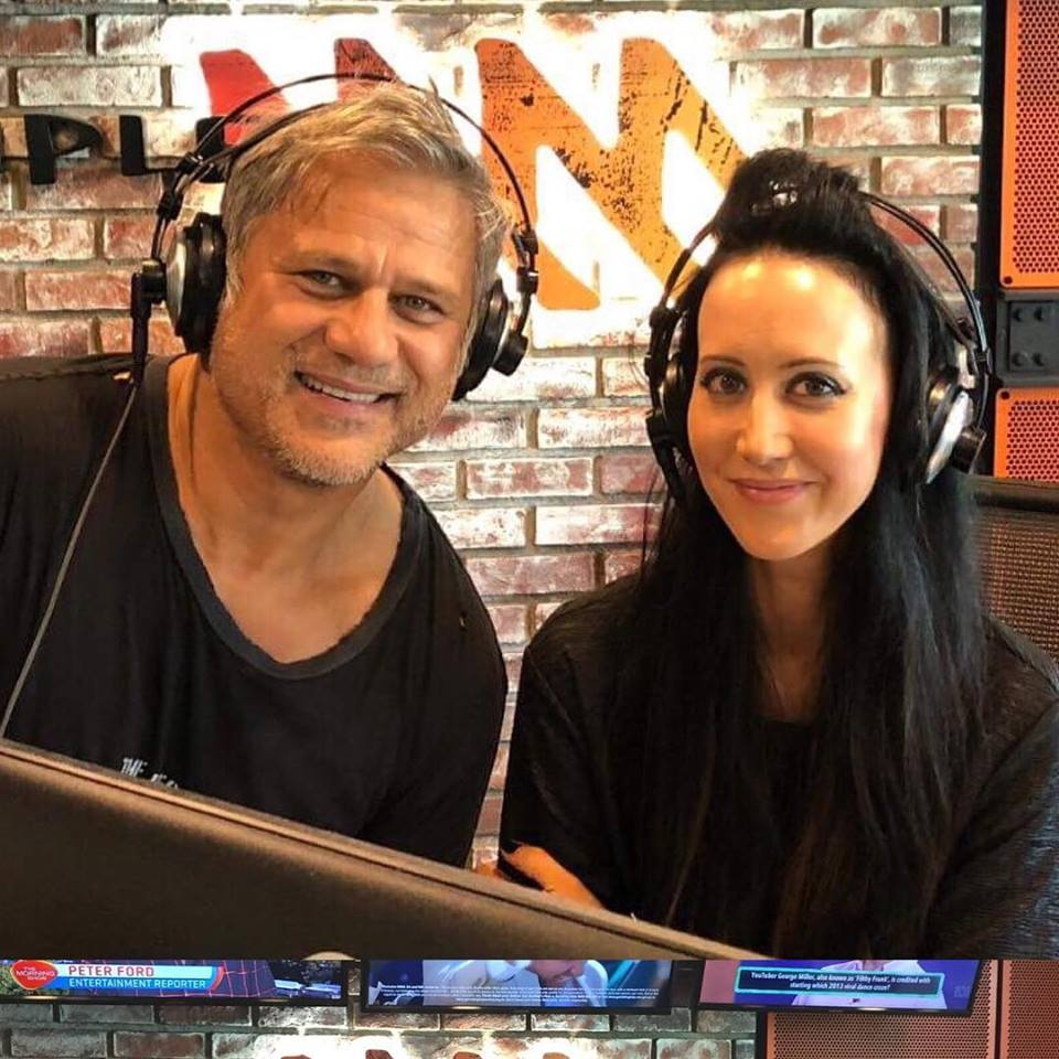 Jon Stevens and Jane