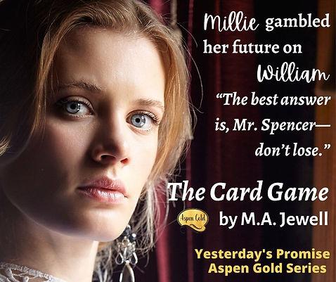 A gambler stole Millie's life. Can a gambler has a plan. William.jpg