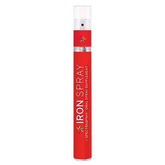 Iron Oral Vitamin Spray by SpectraSpray; food grade Ferrazone