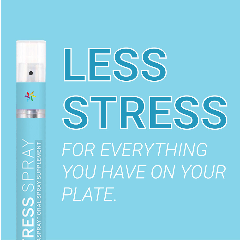Less Stress for everything you have on your plate. Spectraspray Oral Spray Vitamins. The Future of Vitamins.