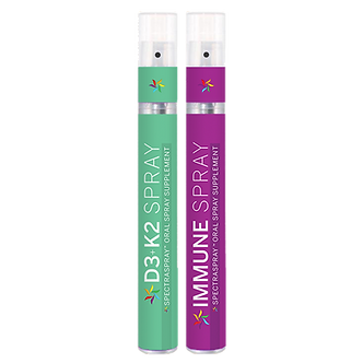 Immune Power with D3 + K2 Spray