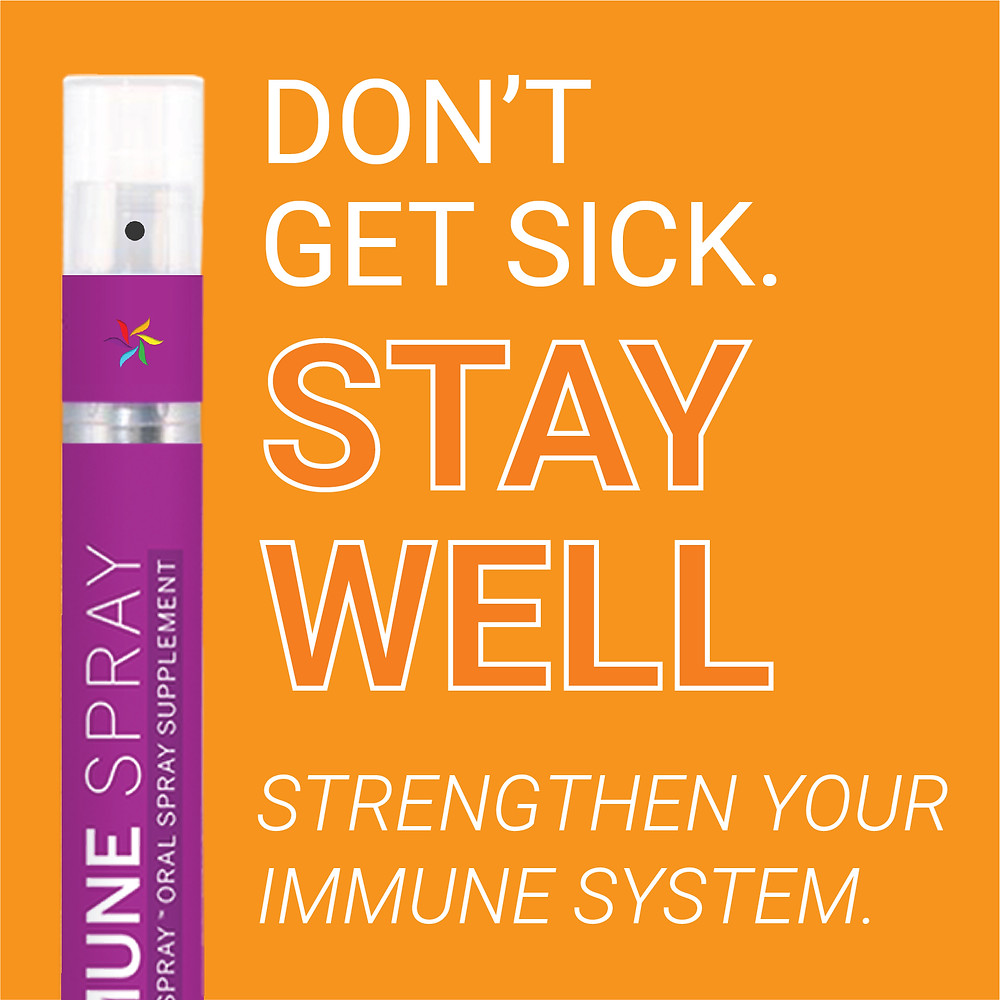 Strengthen your immune system naturally with SpectraSpray Immune Support Spray. Spectraspray Oral Spray Vitamins. The Future of Vitamins.