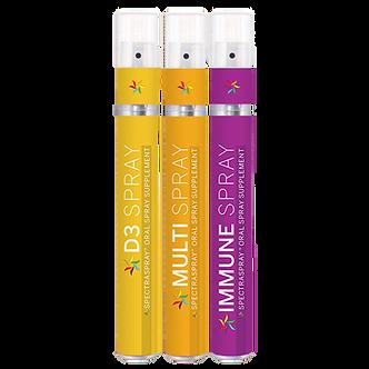 Family Wellness Oral Spray Vitamin Kit by SpectraSpray