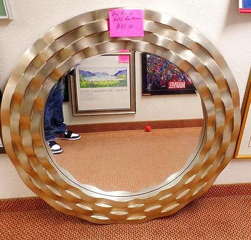 Big Gold Trim Mirror