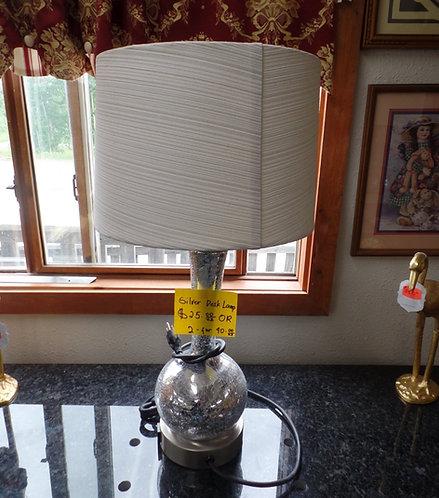 Silver Color Desk Lamp