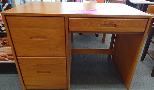 STUDENT DESK W/ 2 DRAWERS AND KEYBOARD DRAWER