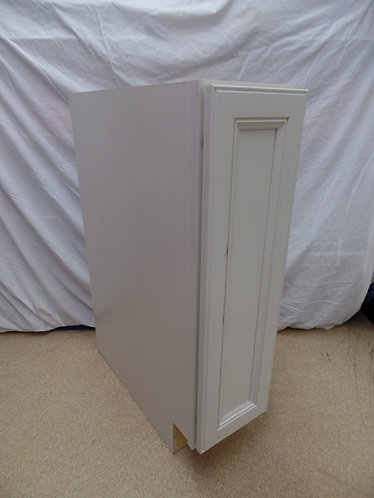 White Floor Cabinet self closing