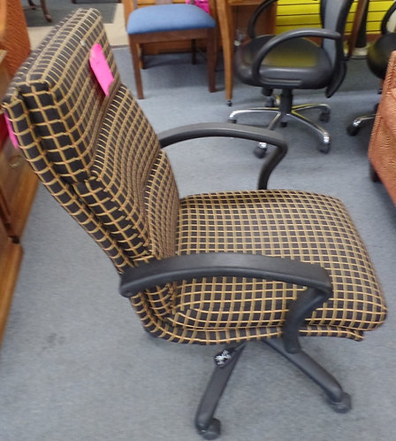 Yellow & Black Office Chair