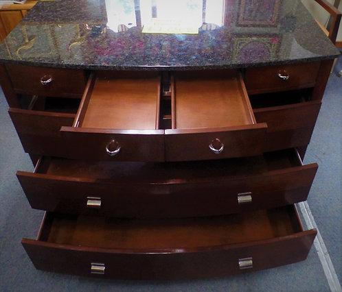 Dresser / Media Center With Built In Jack Pack