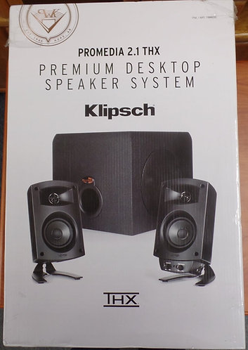 Promedia 2.1 THX Premium Desktop Speaker System  Klipsch