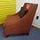 Thumbnail: Accent Chair Orange w/ Built In Pillow