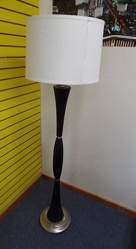 Tall Black Pole Lamp