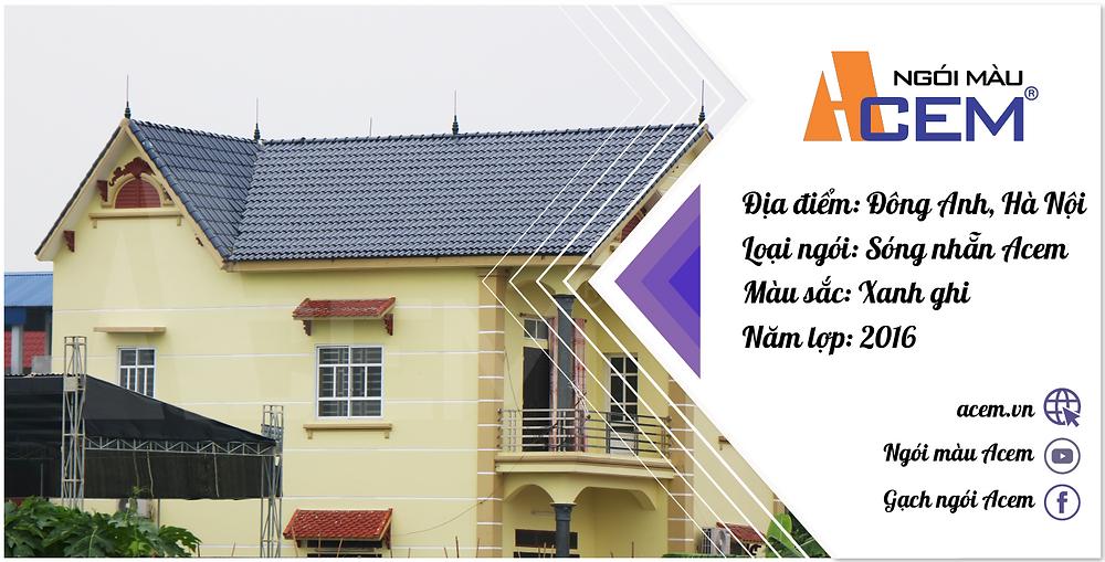 Mái màu sáng sẽ giúp cho ngôi nhà mát mẻ hơn vào mùa hè