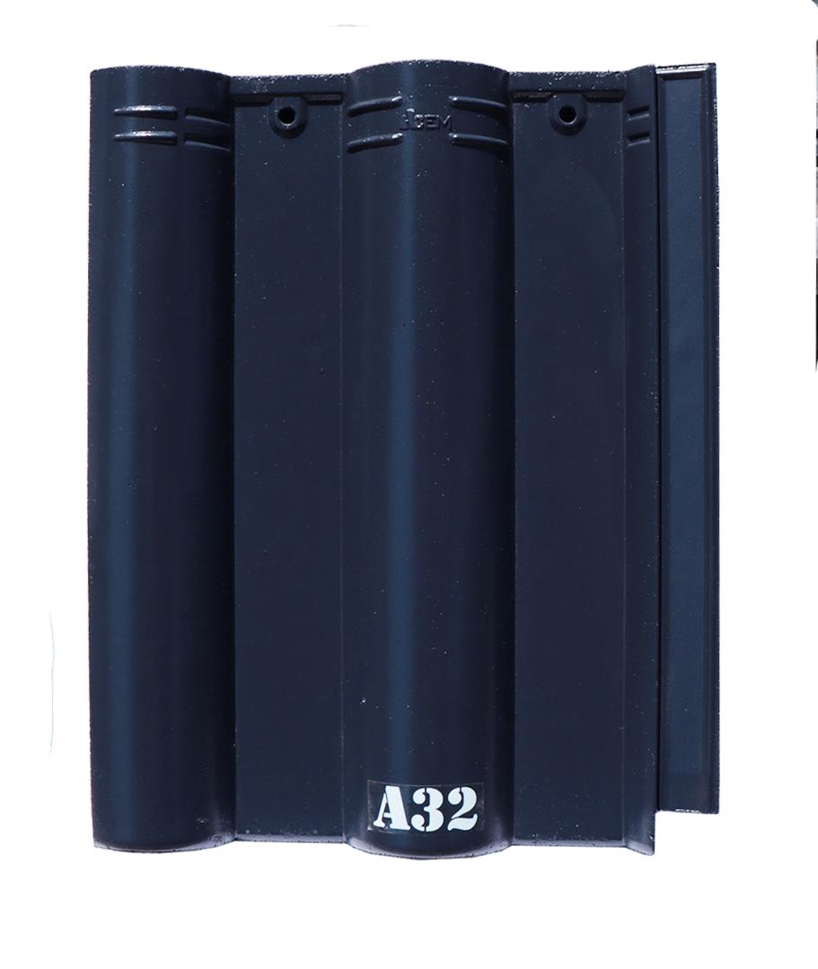Ngói xanh đen A32