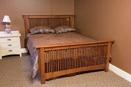 Mission spindle bed