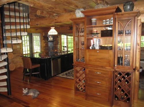 Custom Liquar Cabinet wiht wine rack