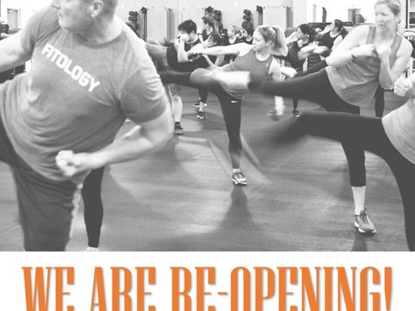 WE ARE.... RE-opening!