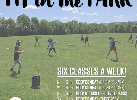 Catch us IN THE PARK - 6 x / week!