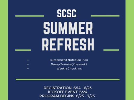 Save the Date: Summer Refresh Program 2021