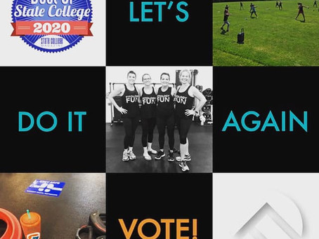 VOTE FOR FITOLOGY for BEST OF STATE COLLEGE 2020!