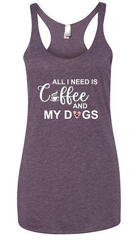 Coffee & Dogs Tank