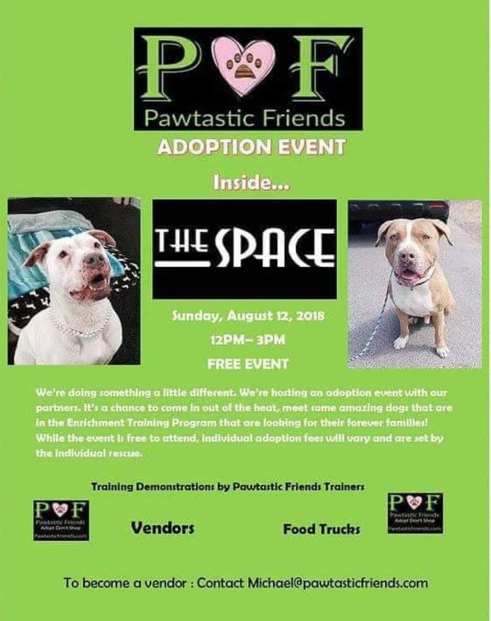 Pawtastic Friends Adoption Event Party