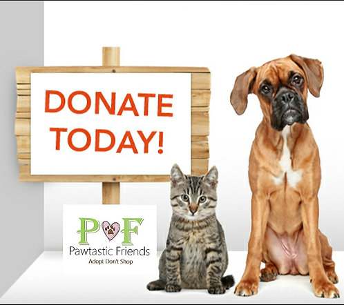 General Donation To Pawtastic Friends