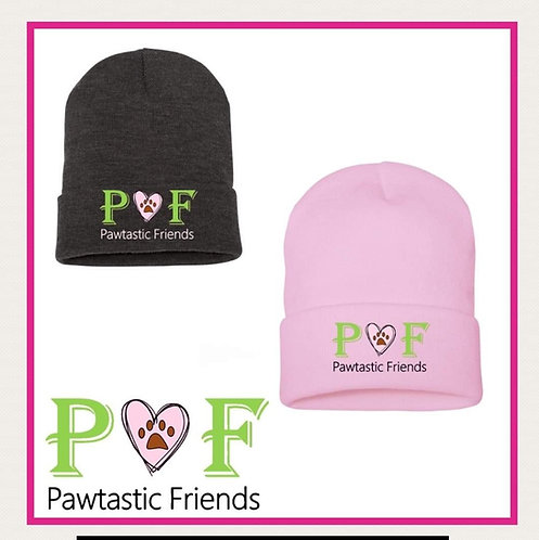 PF Embroidered Beanie