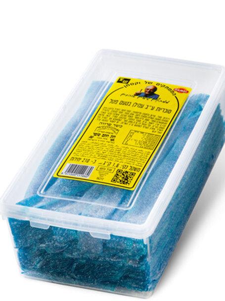 ליקריץ שטוח פטל כחול  1.5 קילו