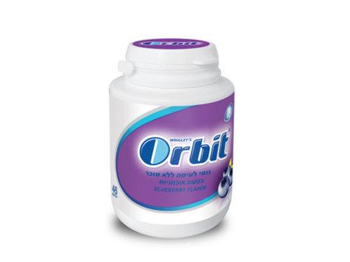 מסטיק אורביט(orbit)בקבוקון בטעם אוכמניות
