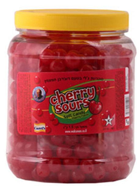 סוכריות ג'לי בינס דובדבן 1.5 קילו