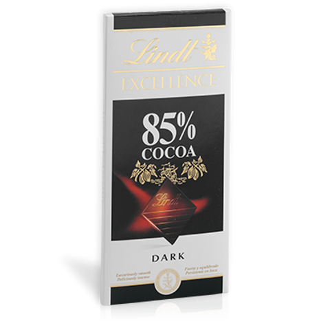 שוקולד לינט מריר 85% מוצקי קקאו