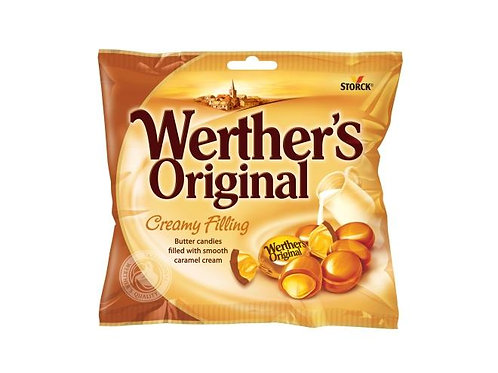וורטרס אורגינל סוכריות חמאה ממולאות