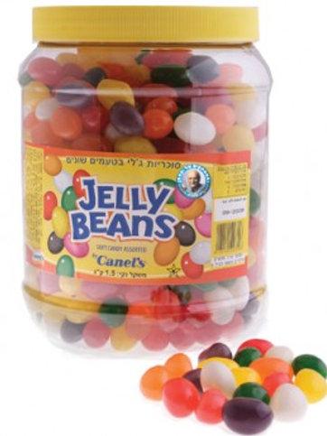 ג'לי בינס מבריק צבעוני בטעם פירות 1.5 קילו(jelly beans)