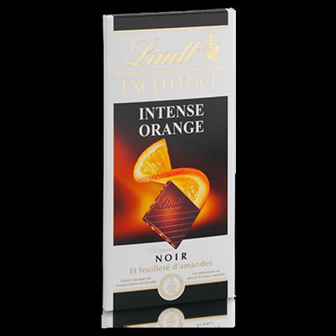 שוקולד לינט מריר עם תפוז ושקדים