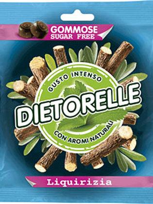 סוכריות גומי DIETORELLE (דיאטאורל)בטעם אניס(ליקריץ)ללא סוכר פרווה