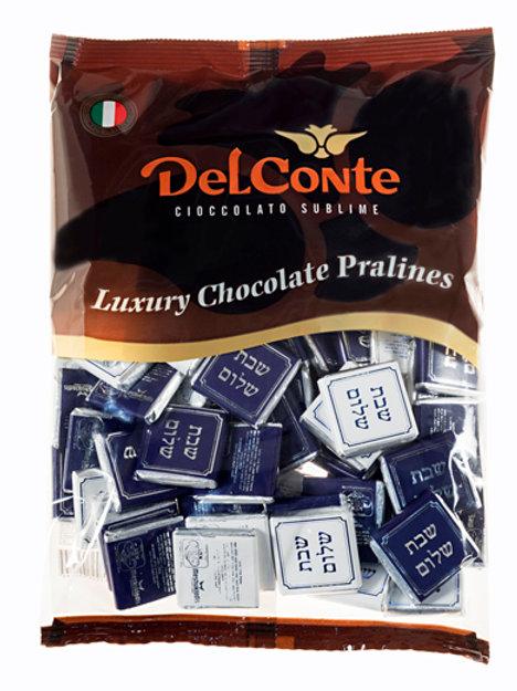 נפוליטן (Delconte) שוקולד שבת שלום פרווה 500 גרם משקולדיס