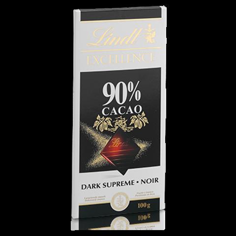 שוקולד לינט מריר 90% מוצקי קקאו